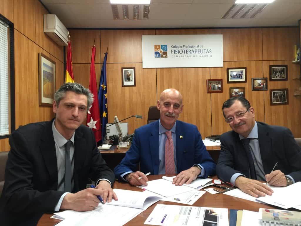 Howden firma un convenio con el colegio de fisioterapeutas for Convenio oficinas madrid