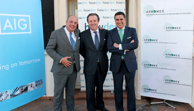 Celebración del III Aniversario del convenio de AIG con Howden y Apromes