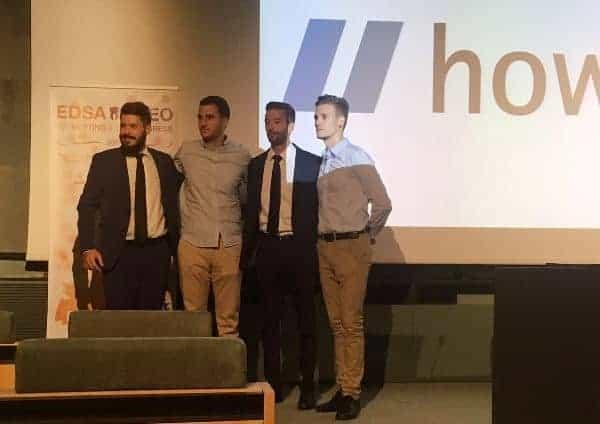 Álvaro Palacio y Javier Vilarrasa reciben la beca ANEO-Howden