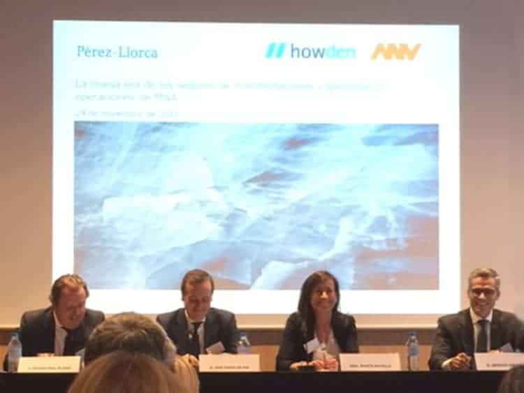 """Howden participa en la mesa redonda """"La nueva era de los seguros de R&W"""""""