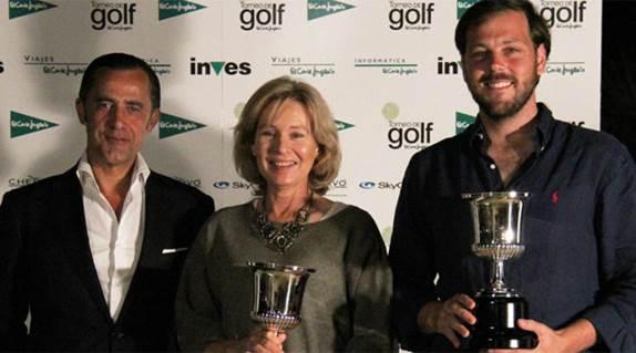 Pedro Abaurre, ganador del campeonato de golf de El Corte Inglés
