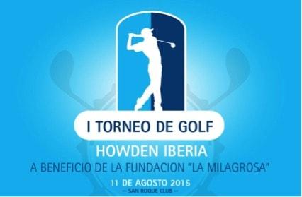 Torneo de Golf Howden Iberia a beneficio de la Fundación La Milagrosa