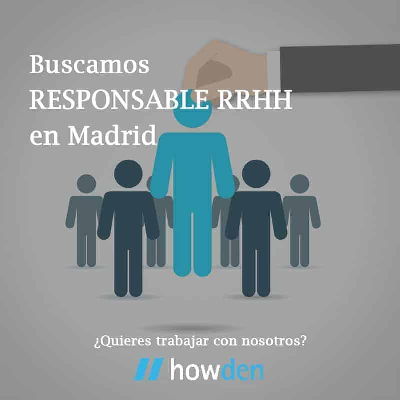 Responsable del Departamento de RRHH