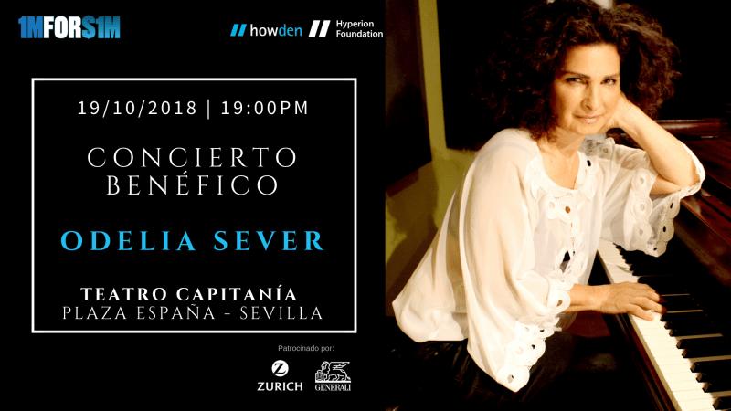 concierto benéfico Sevilla Odelia Sever